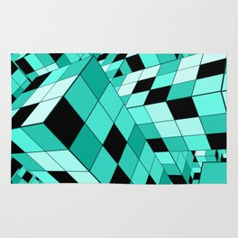 Rubik series 1, mint Rug