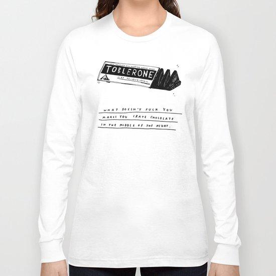 CHOCOLATE DREAMING Long Sleeve T-shirt