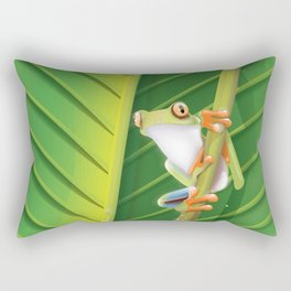 Belem Brazil travel poster Rectangular Pillow