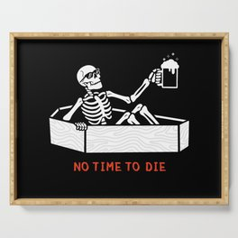 No Time to Die Serving Tray