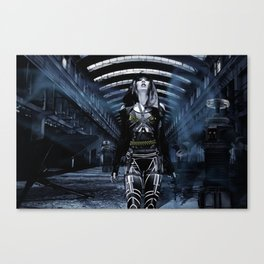 DWR Cyborg and Robots  Canvas Print