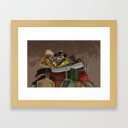 King Jamison Fawkes the First Framed Art Print