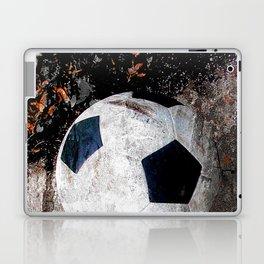 The soccer ball Laptop & iPad Skin