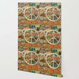 Peace Sign - Love - Graffiti Wallpaper