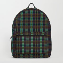 Colorful Plaid Backpack