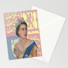"""The  Queen"" Stationery Cards"
