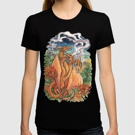 Three Headed Chrysanthemum Dragon T-shirt