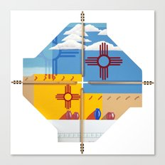 Altered State: NM Canvas Print