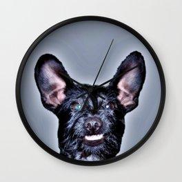 Funny Dog , Good Humor Dog Wall Clock