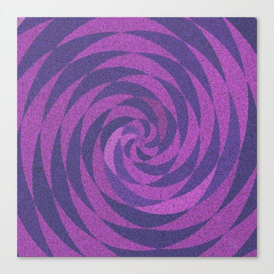 Fuchsia Twirl Canvas Print