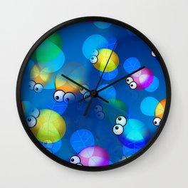 Pesky Flies Wall Clock