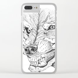 Beast Clear iPhone Case