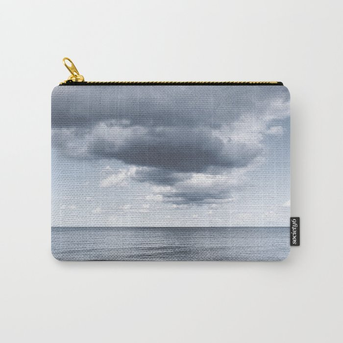 Looking for the clouds - Beach Ocean Sea Cloud Water Landscape on #Society6 Carry-All Pouch