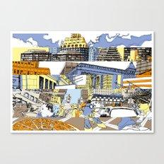 NY Stripes Canvas Print