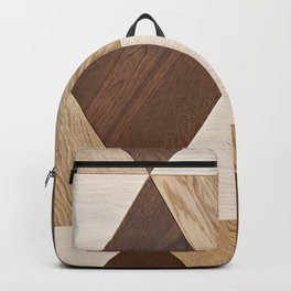 Wooden wall panel Backpack