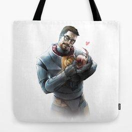 Gordon Freeman and Lamarr Tote Bag