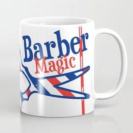 Barber Magic - red, white, blue Coffee Mug