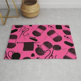 Yarn Pink Rug