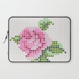 Shabby Chic Pink Rose Laptop Sleeve