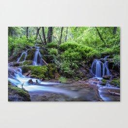 Hanging Lake Runoff Canvas Print