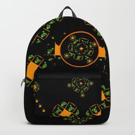 Orange and Green Spaces 115 Backpack