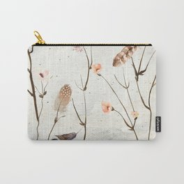 Feather Tree Carry-All Pouch