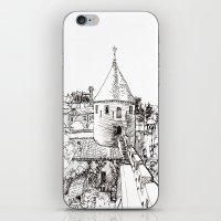 garden tower iPhone & iPod Skin