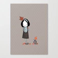 Autumn in my heart Canvas Print