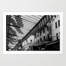 Chinatown, San Francisco Art Print