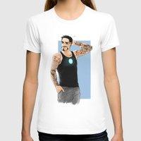 tony stark T-shirts featuring Tony Stark+Sleeve tats  by Krusca
