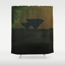 Pyramids Shower Curtain