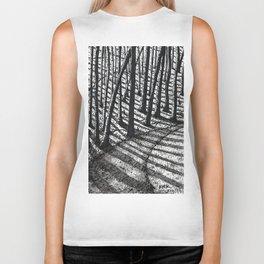 'Trees and Shadows' Biker Tank
