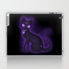 Purple Eyed Cat Laptop & iPad Skin