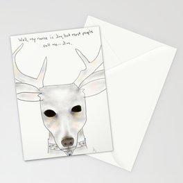 jim deer Stationery Cards