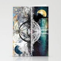 discount Stationery Cards featuring TwoWorldsofDesign by J.Lauren