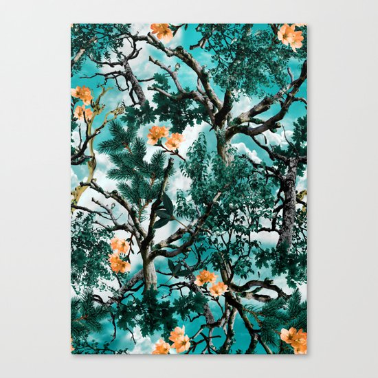 Natural Camouflage Canvas Print
