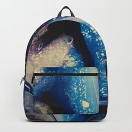 Blue & Purple Pour Backpack