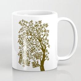 Fruit of the Spirit (Monotone) Coffee Mug