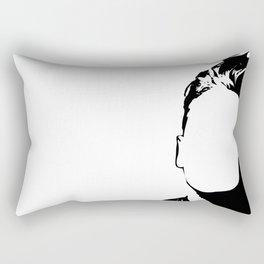Morrisey-vacant expression Rectangular Pillow