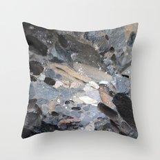 I Am A Rock :: Alaskan Boulder Throw Pillow