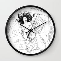 apollonia Wall Clocks featuring asc 547 - My New Year's resolutions - September  by From Apollonia with Love
