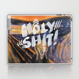 holy shit - 31daysofcursing Laptop & iPad Skin