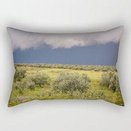 Before rain Rectangular Pillow