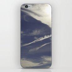 winter skies iPhone & iPod Skin