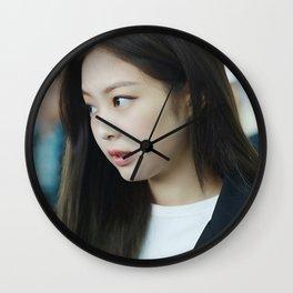 jennie side Wall Clock