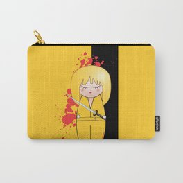 Kokeshi Beatrix of Kill Bill Carry-All Pouch