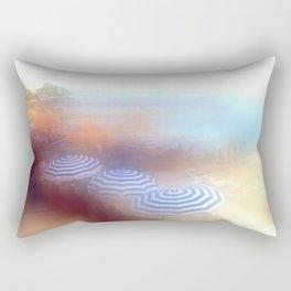 Plage d' Antibes - Cote d' Azur France  Rectangular Pillow