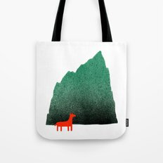 Man & Nature - Island #1 Tote Bag