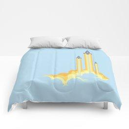 Lift-off! Comforters