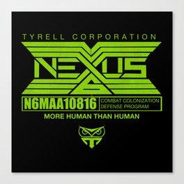 NEXUS 6 - more human than human Canvas Print
